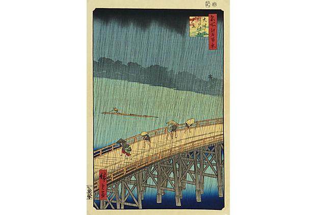 Rokujyo Japanese Woodblock, C. 1900
