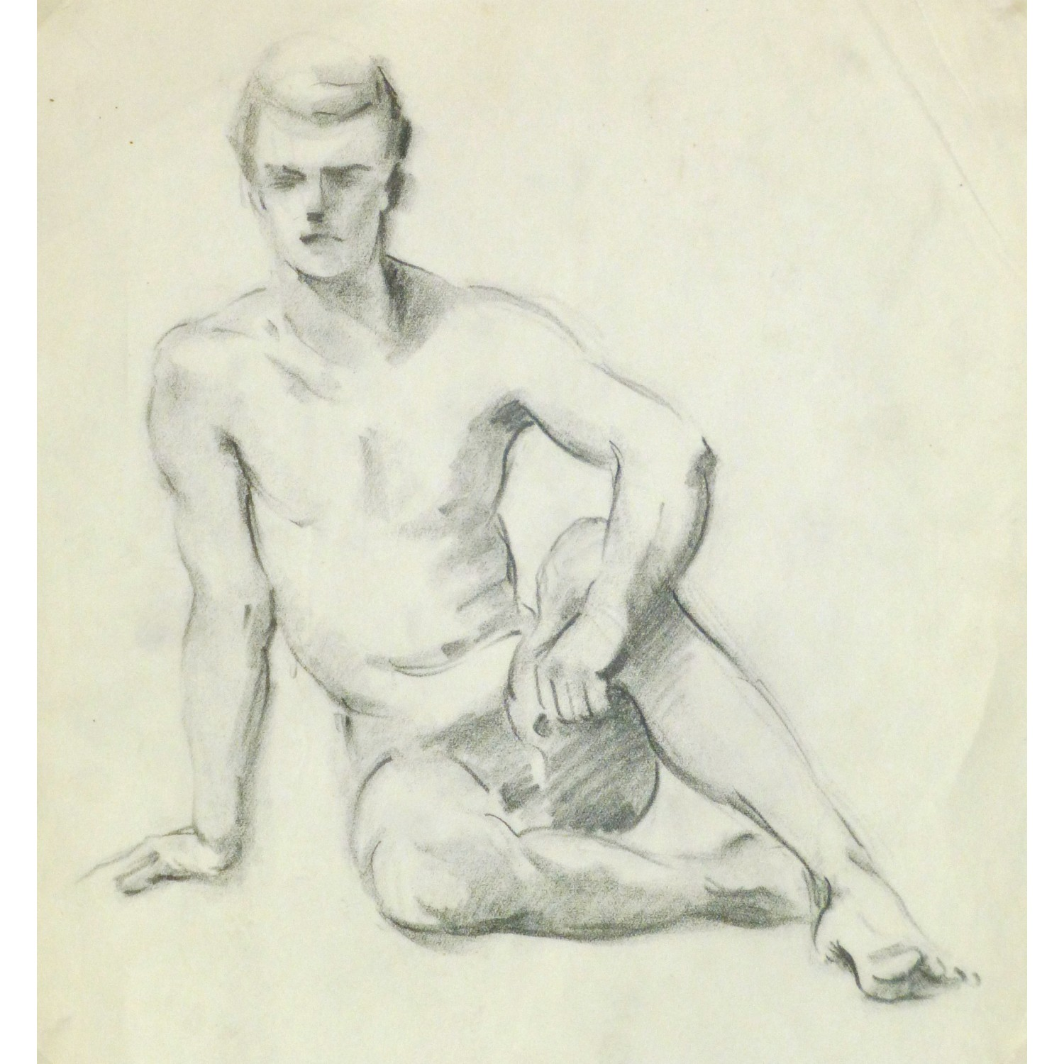 Nude Drawing Male