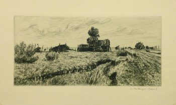Etching - Rural Remains - Main - 9958M