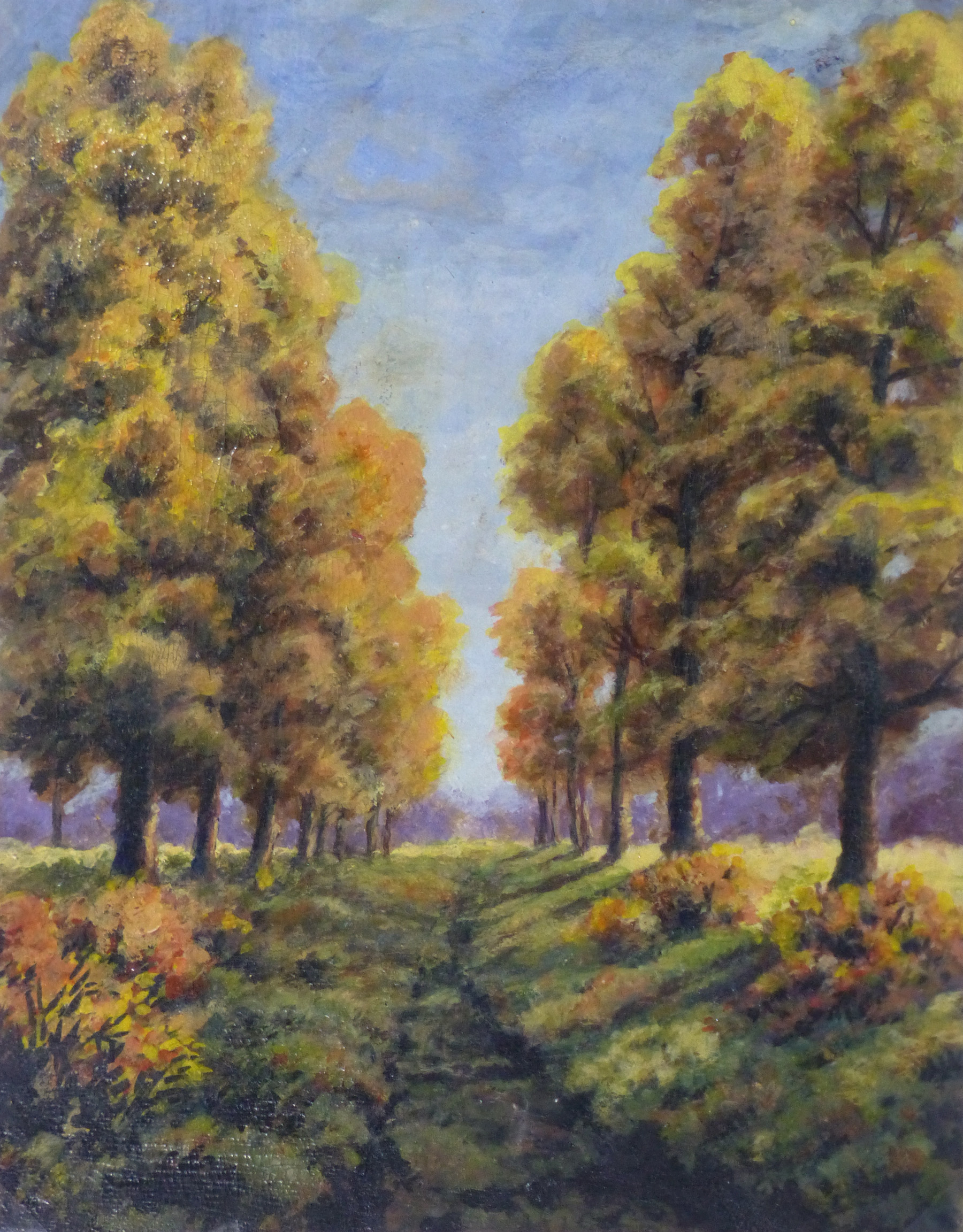Oil Landscape - Arbor Path - Main-9972M
