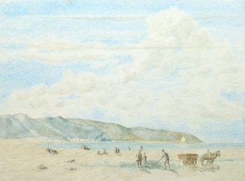 Watercolor Landscape - English Coast-main-10148M