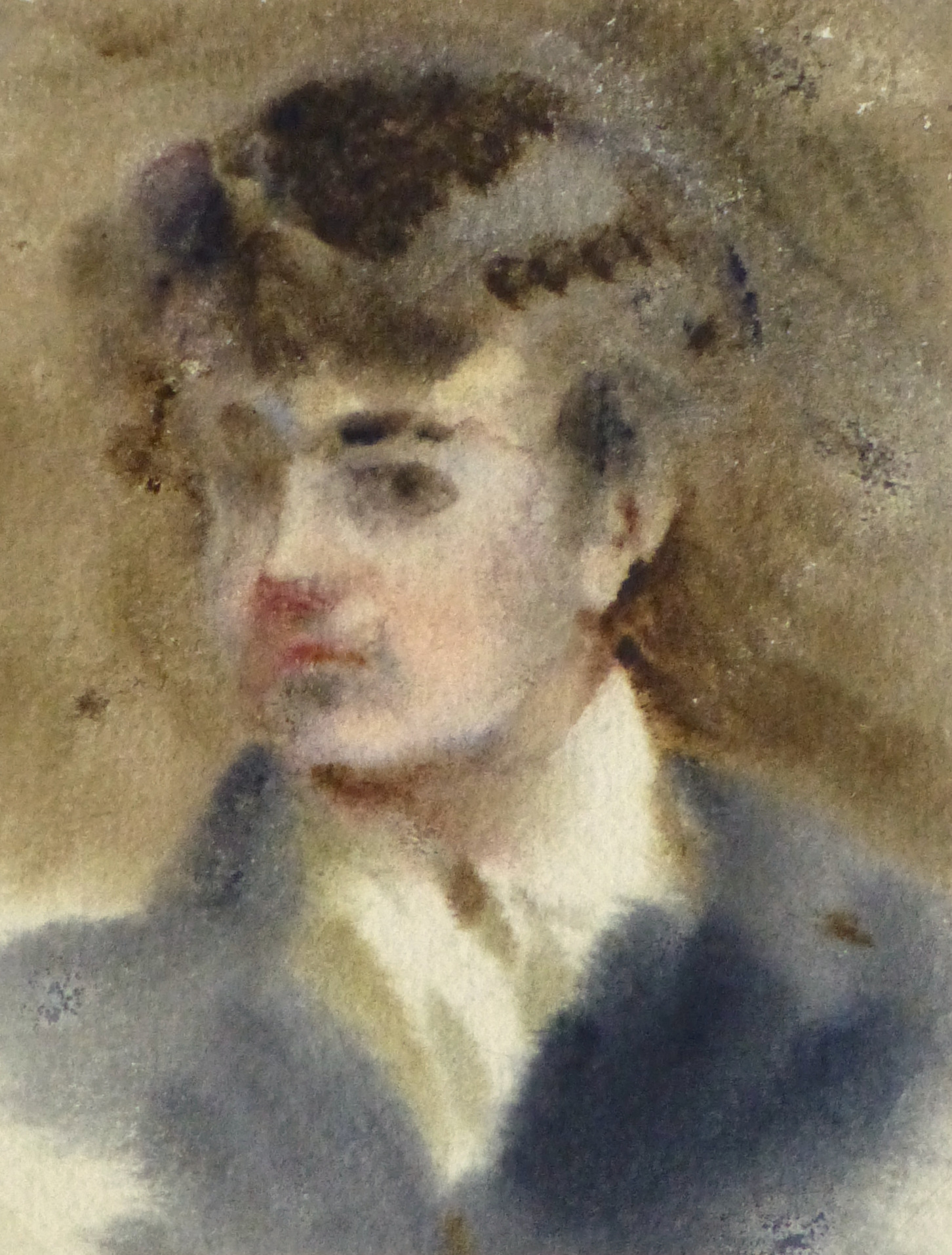 Watercolor Portrait - The Impressionist-main-10190M