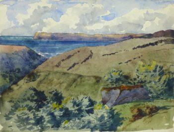 Watercolor Seascape - Coastal Retreat-main-10237M