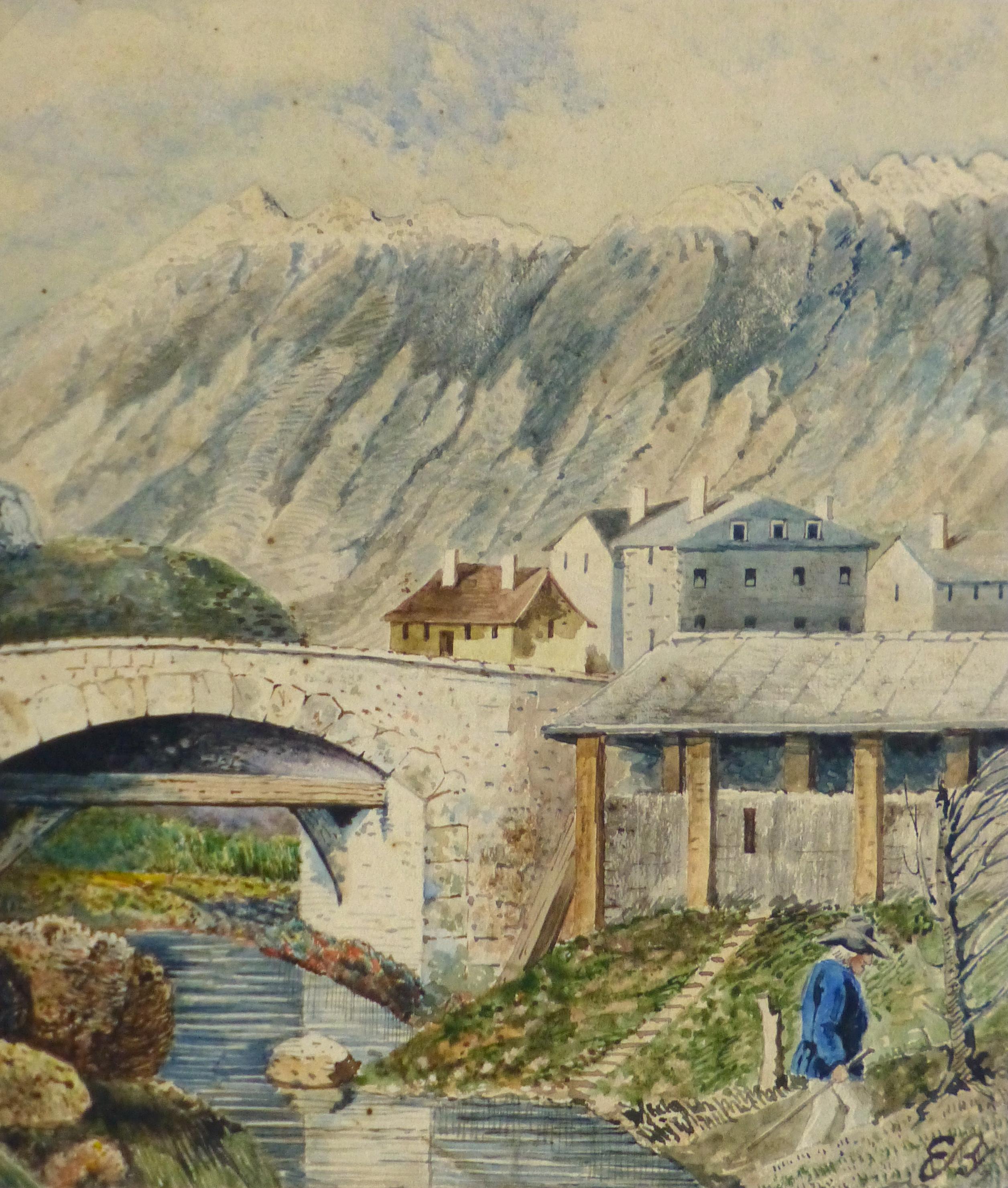 Watercolor Landscape - L'Arriére Pays-main-10246M