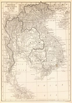 Map- Thailand & Vietnam, 1910-main-7702K