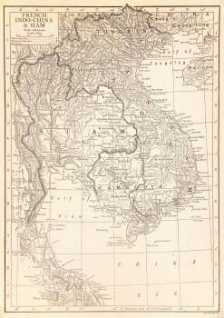 Map- Thailand & Vietnam, 1910-main-7702K