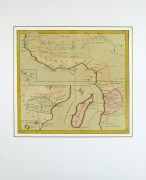 Map - Africa, 1767-matted-8121K