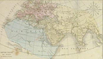 Map- World of the Ancients, 1860-main-8150K