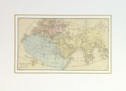 Map- World of the Ancients, 1860-matted-8150K