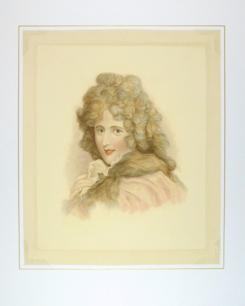 Nellie Farren Engraving-matted-8399K