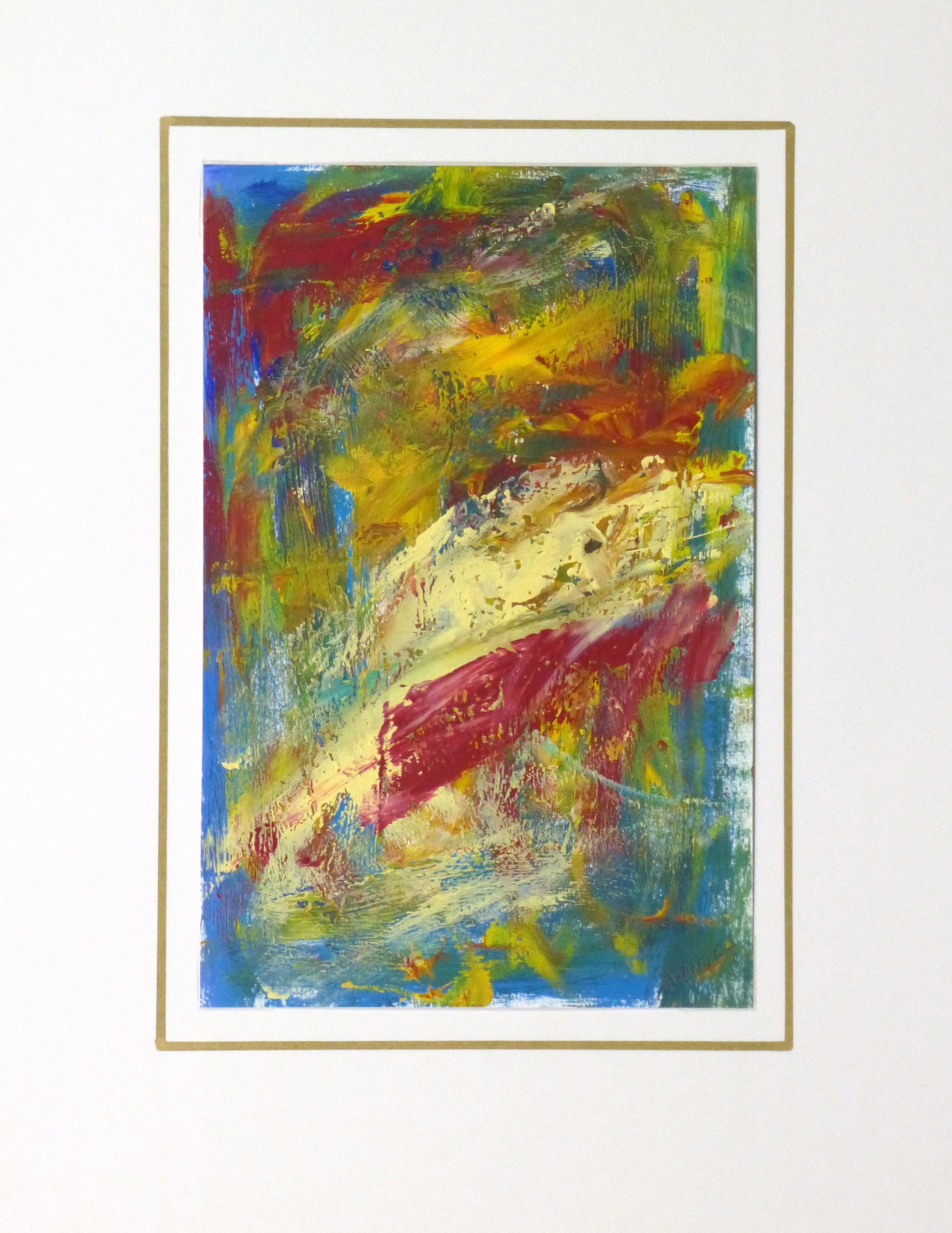 Acrylic - Sans Peur Abstract-matted-10090K