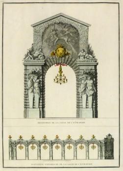 Paris City Decor Engraving, 1745-main-10370M