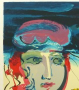 Lithograph - Beach Beauty, 1970-detail 2-10388M