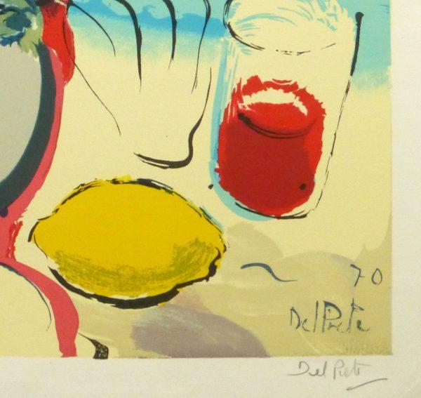 Lithograph - Beach Beauty, 1970-detail-10388M