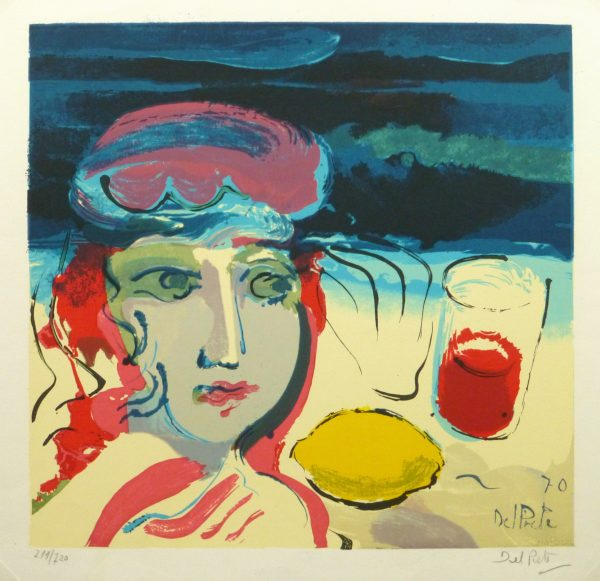 Lithograph - Beach Beauty, 1970-main-10388M