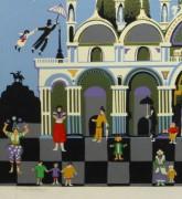 Lithograph - Venice Fantasy, Circa 1970-detail 2-10389M