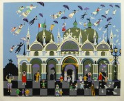 Lithograph - Venice Fantasy, Circa 1970-main-10389M