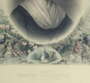 Martha Washington Print, 1870-detail-10394M