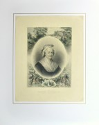 Martha Washington Print, 1870-matted-10394M