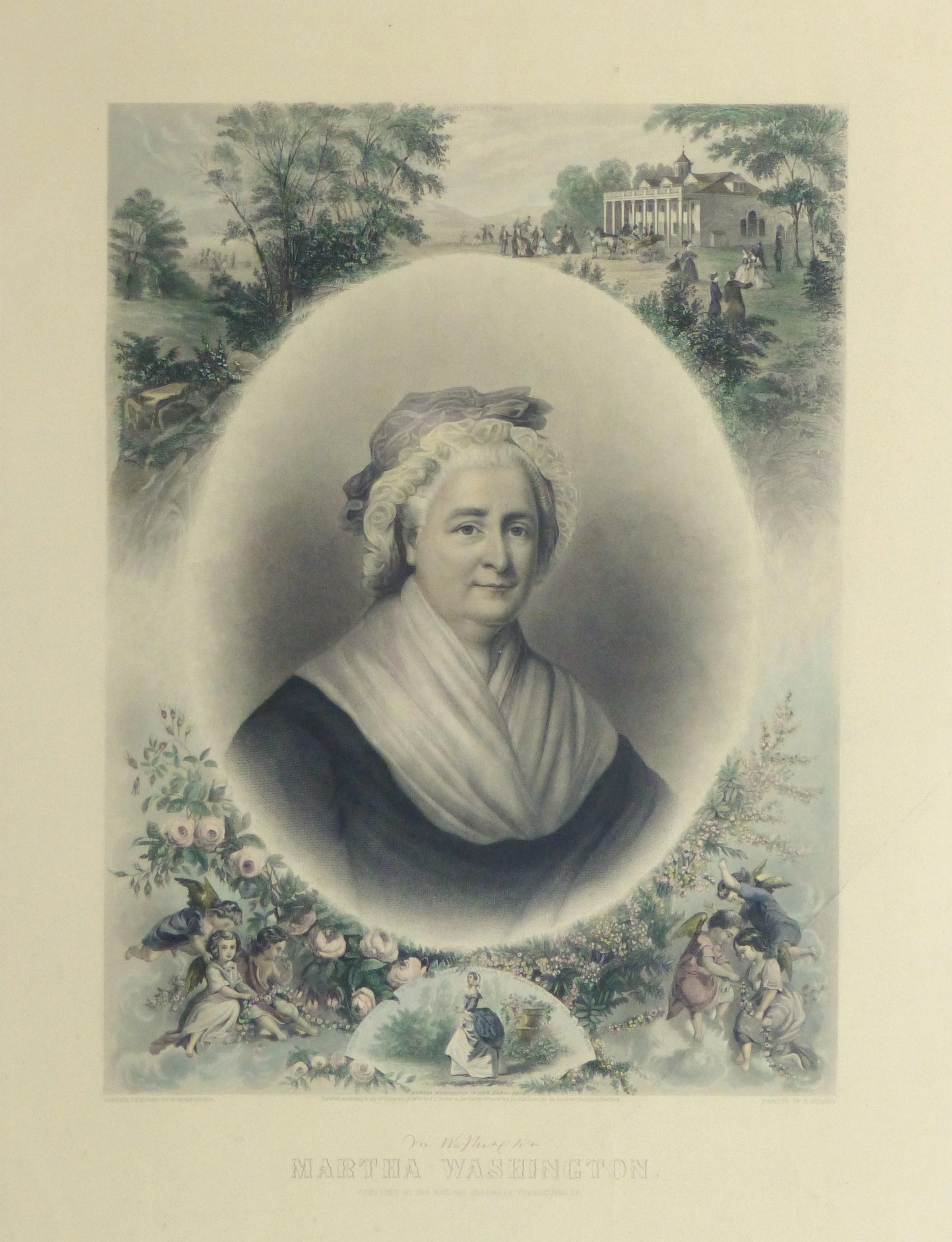 Martha Washington Print, 1870-main-10394M