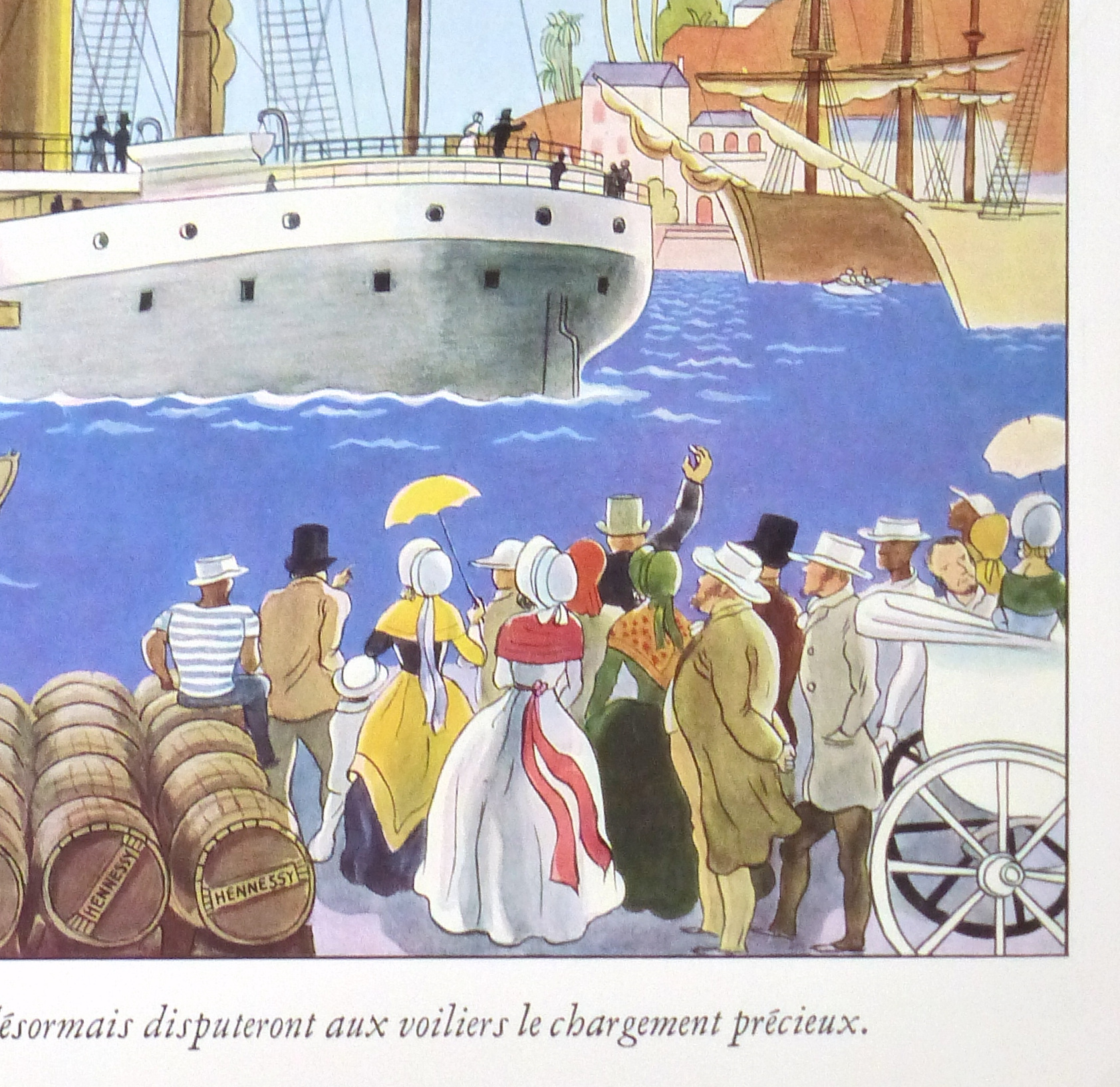Hennessy Cognac Print, Circa 1920-detail-10402M