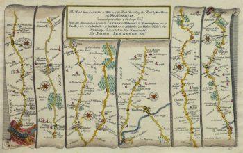 London Road Map, 1719-main-10420M