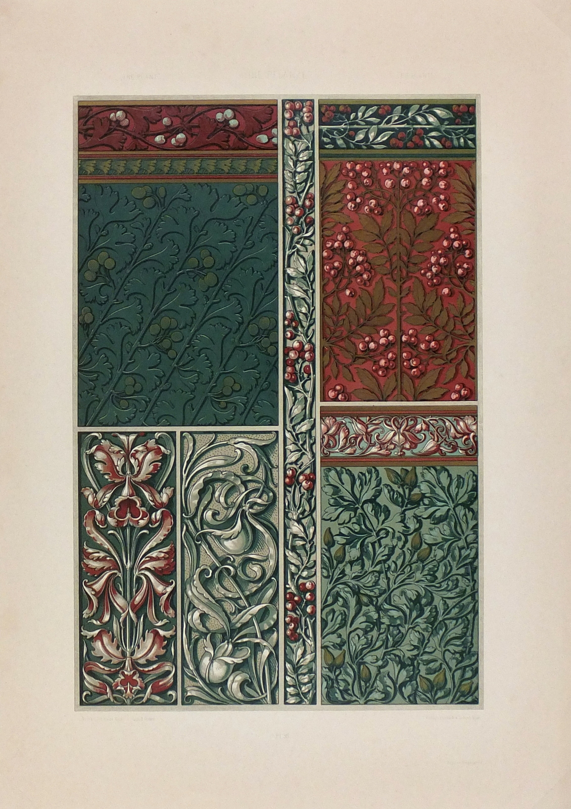 Art Nouveau Designer Sheet, 1886-main-KLA2332