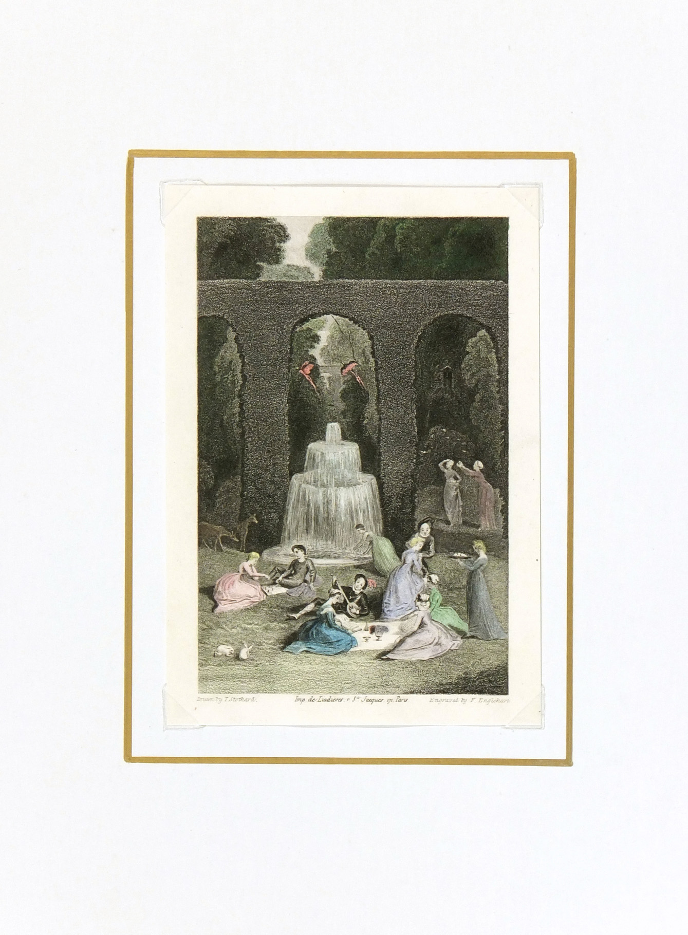 Games & Music Antique, Circa 1835-matted-KLA3173