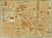 Birmingham England Map, 1924-main-5414K