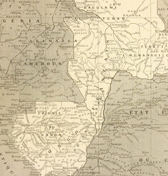 West Africa Map, 1908-detail-5564K