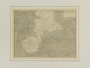 West Africa Map, 1908-matted-5564K