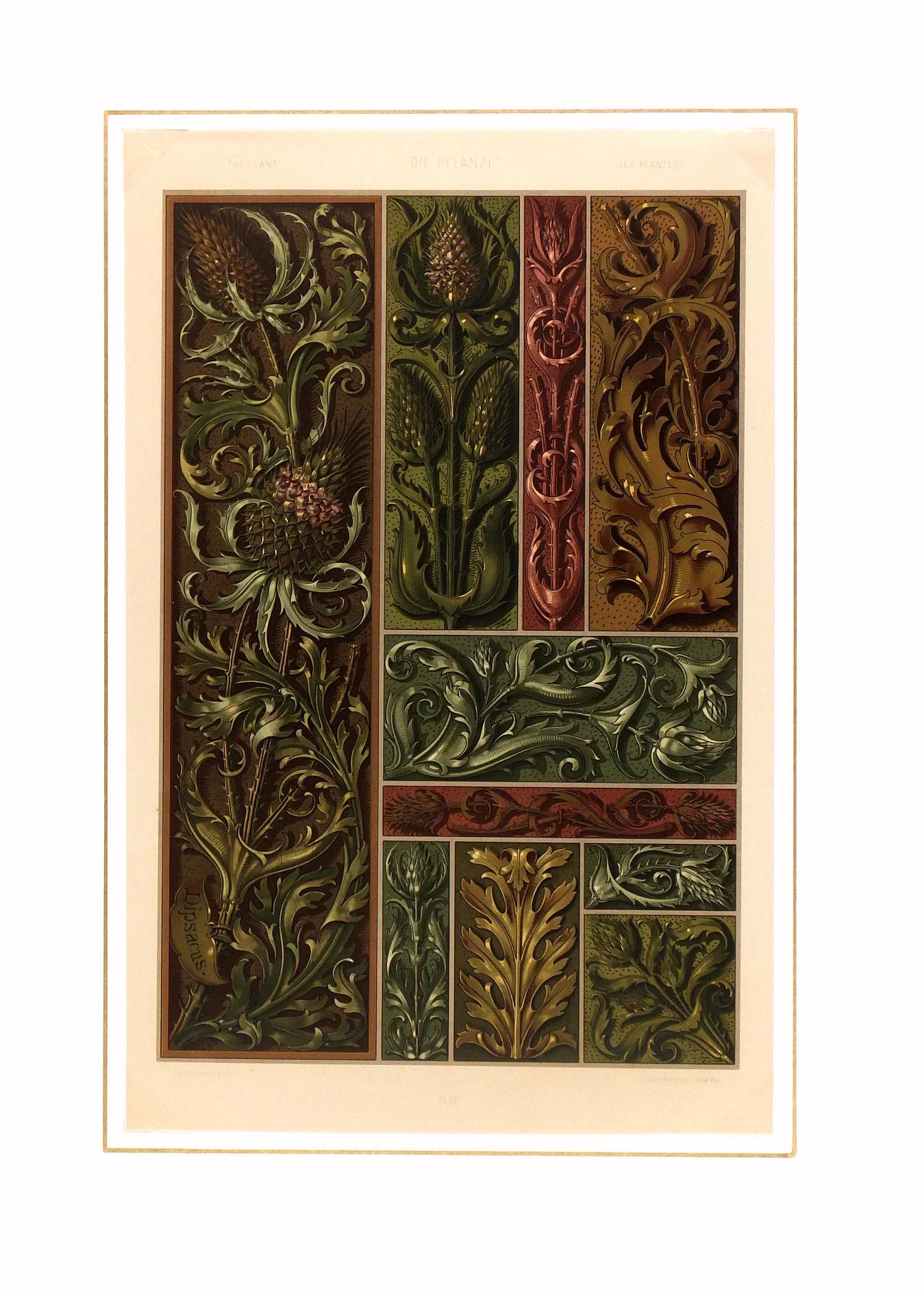 Interior Decor Print, 1886-matted-5632K