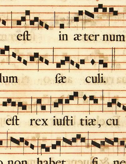 Late Renaissance Music Sheet, Circa 1750-detail-5709K