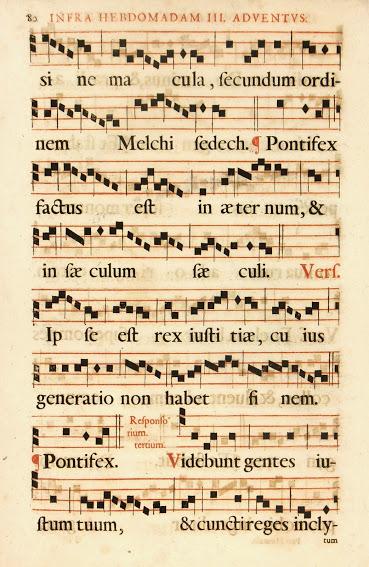 Late Renaissance Music Sheet, Circa 1750-main-5709K