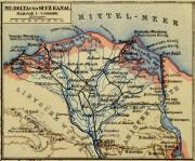 Egypt, Sudan & Ethiopia Map, Circa 1880-detail-5791K