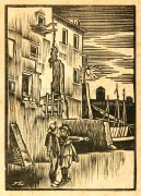 Port Woodblock, 1930-main-6139K