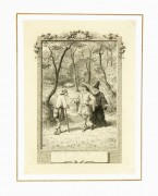 French Engraving, 1880-matted-6142K