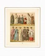 Italian Dress Print, 1888-matted-6210K