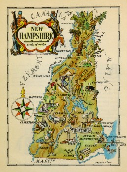 New Hampshire Pictorial Map, 1946-main-6233K