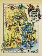 Rhode Island Pictorial Map, 1946-main-6238K
