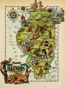 Pictorial Map - Illinois, 1946-main-6241K
