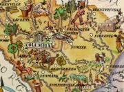 South Carolina Pictorial Map, 1946-detail-6250K