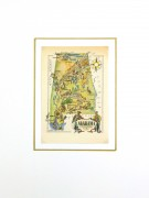 Pictorial Map - Alabama, 1946-matted-6255K