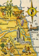 Nebraska Pictorial Map, 1946-detail-6256K