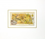 Nebraska Pictorial Map, 1946-matted-6256K