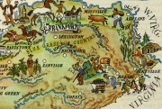 Kentucky Pictorial Map, 1946-detail-6262K