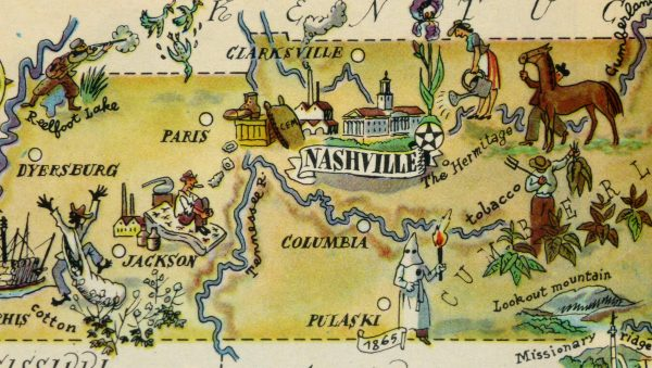 Tennessee Pictorial Map, 1946-detail-6268K