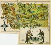 Montana Pictorial Map, 1946-main-6272K