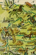 Montana Pictorial Map, 1946-detail-6272K