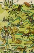 Montana Pictorial Map, 1946-detail-6272K